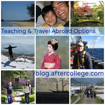 Travel & Teaching Abroad collage small