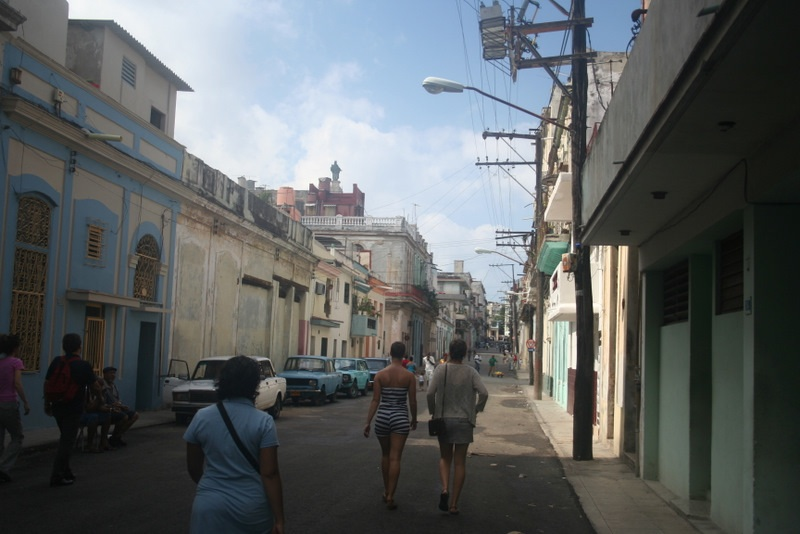 Me walking the streets of Havana, Cuba
