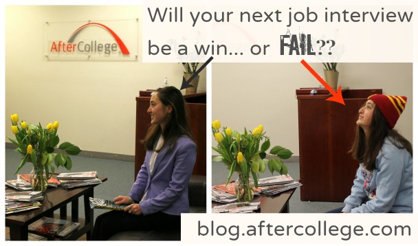 interview wins and fails collage