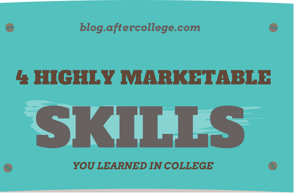 4 Skills You Learned in College That'll Help Your Job Search ...