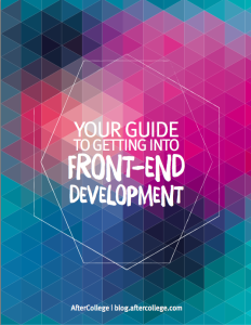 front-end dev ebook cover