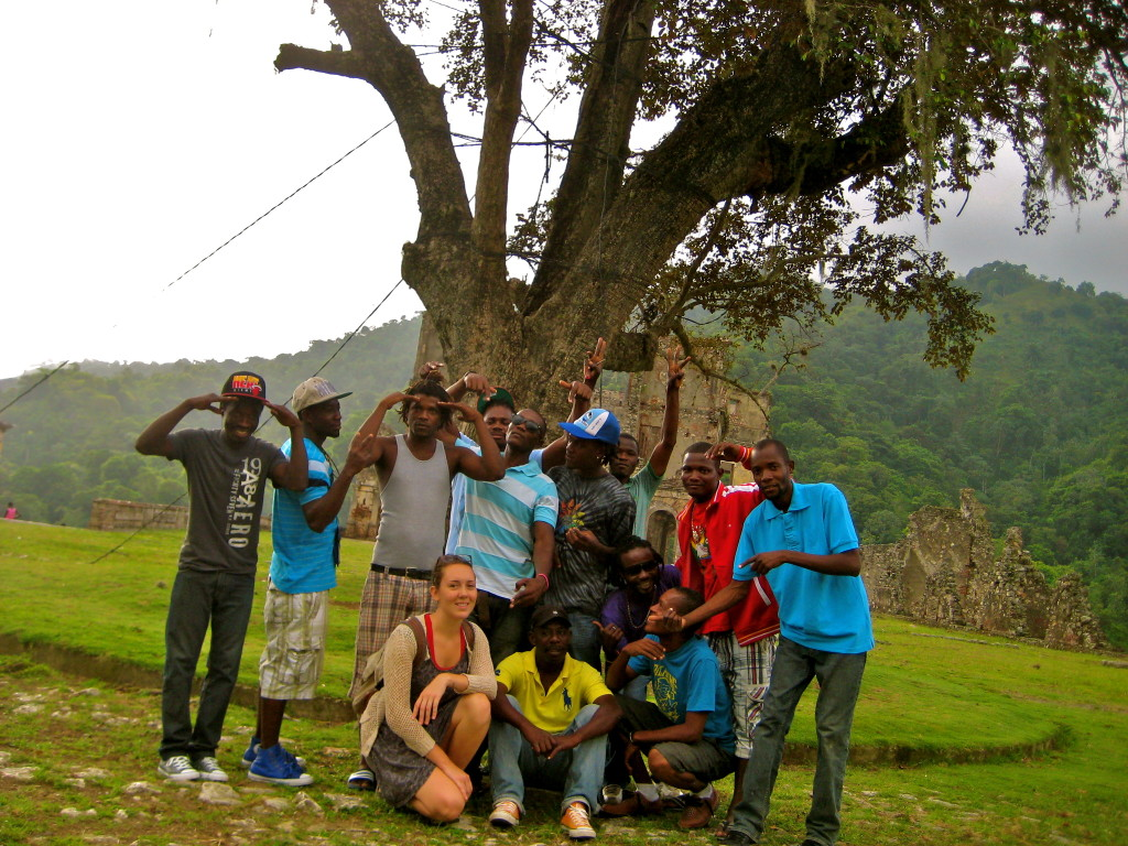 In Haiti with SOIL staff