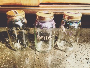 "Decorate ""rememberlucian"" jars to hold happy memory of 2015"
