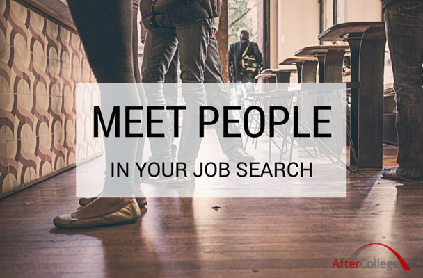 Why you can't be afraid of reaching out to people in your job search