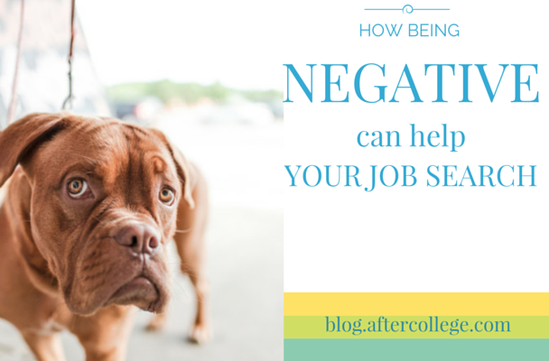 negative job search