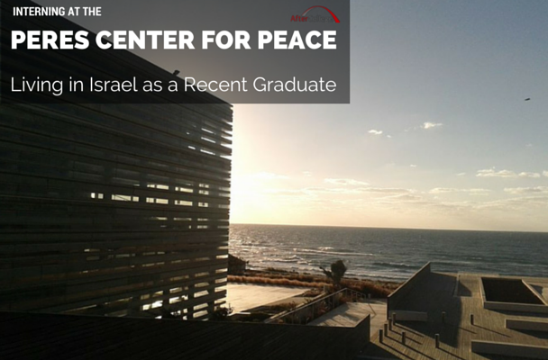 Interning at The Peres Center for Peace