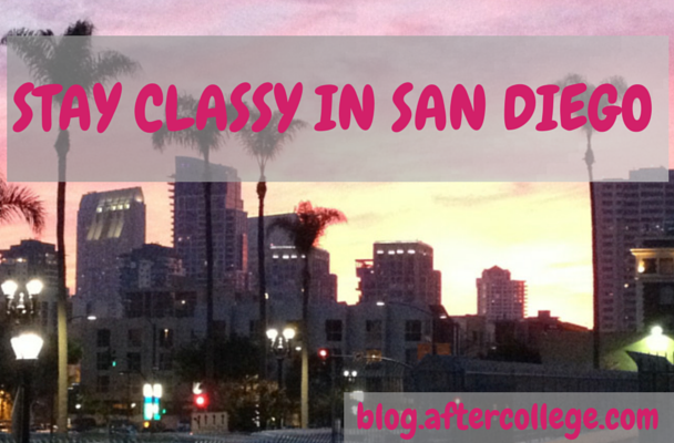STAY CLASSY in SAN DIEGO
