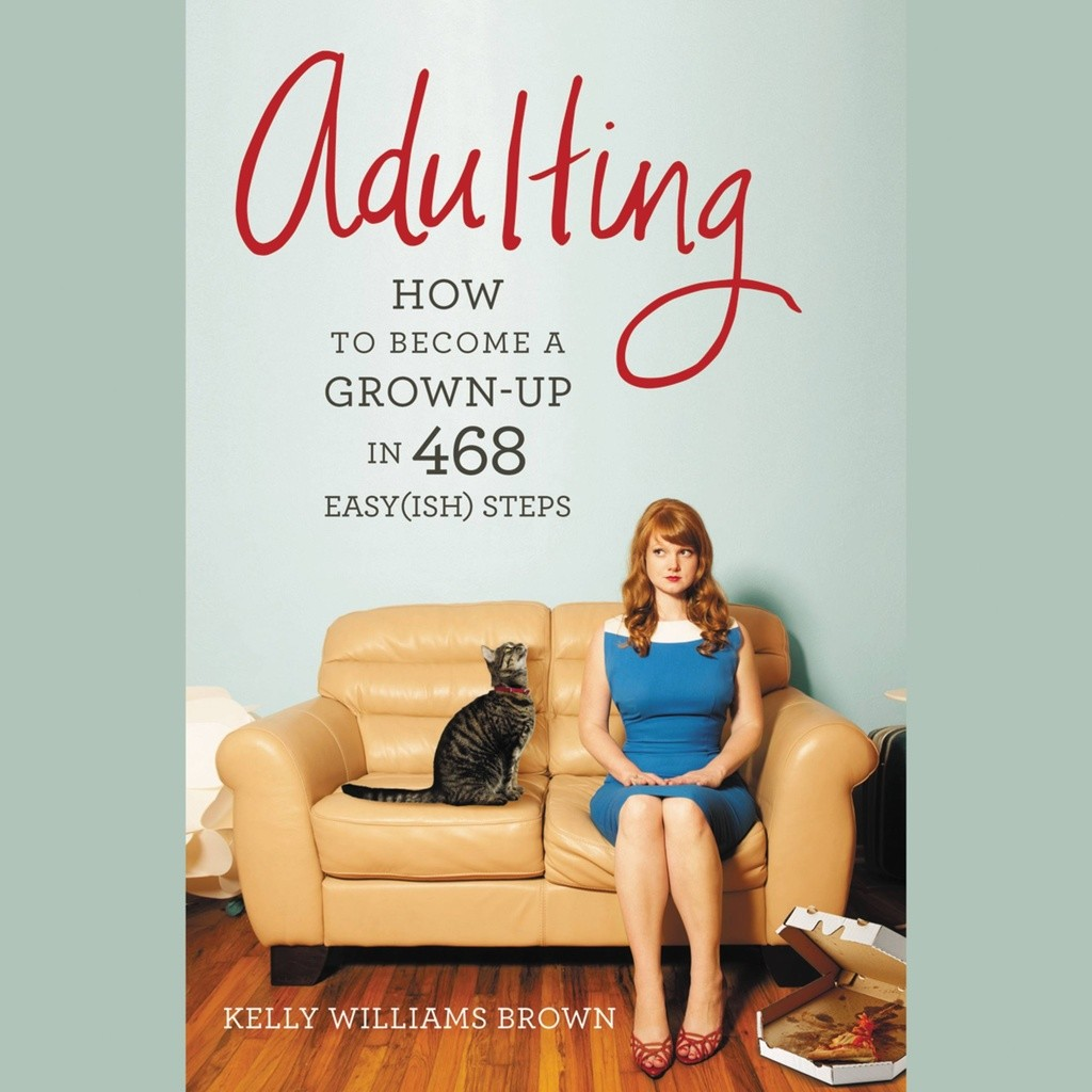 adulting cover