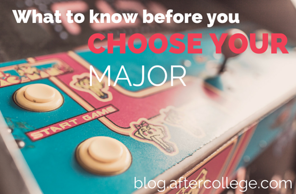 how to choose a college major test