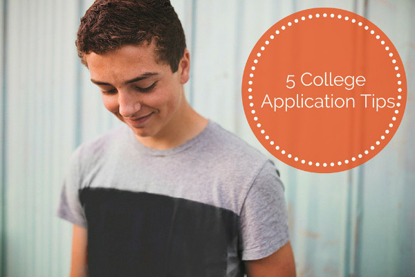 5 College Application Tips